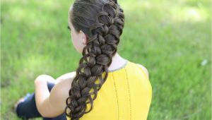 Hard Braid Hairstyles Diagonal French Loop Braid Cute Braid Hairstyles