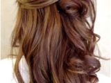 Homecoming Hairstyles Half Up Straight 611 Best Prom Hairstyles Images
