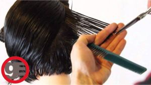 How to Cut A Bob Haircut Step by Step Bob Haircut with Graduation How to Cut Graduated Bob