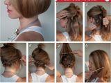How to Cut A Bob Haircut Step by Step Hair Tutorial How to Create A Faux Bob Hair Romance
