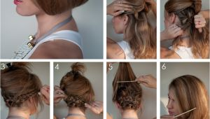 How to Do A Bob Haircut Hair Tutorial How to Create A Faux Bob Hair Romance