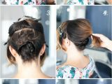 How to Do A Bob Haircut Step by Step Pretty Simple Updo for Short Hair Camille Styles