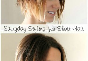 How to Do A Bob Haircut Step by Step Styling An Angled Bob Easy Everyday Tutorial One Little