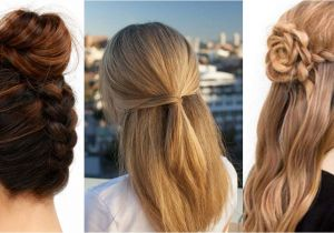 How to Do A Easy Hairstyle 41 Diy Cool Easy Hairstyles that Real People Can Actually