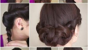 How to Do A Easy Hairstyle Diy Simple and Awesome Twisted Updo Hairstyle