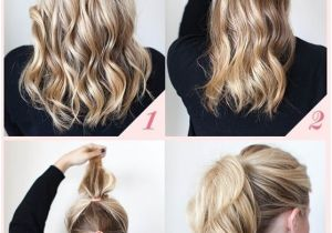 How to Do An Easy Hairstyle 15 Cute and Easy Ponytail Hairstyles Tutorials Popular