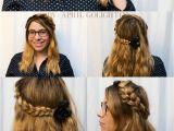 How to Do Braided Crown Hairstyles Half Up Crown Braid Tutorial Pinterest