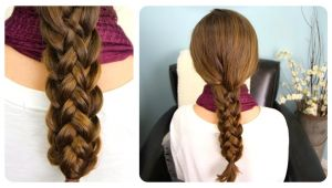 How to Do Cute Braided Hairstyles How to Do Cute Stacked Braids Hairstyles for Long Hair Diy