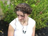 How to Do Cute Hairstyles for Girls Milkmaid Braid Cute Summer Hairstyles