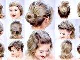 How to Do Cute Hairstyles for Short Hair Easy Hairstyles for Short Hair Short and Cuts Hairstyles