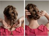 How to Do Cute Hairstyles On Yourself Braided Upstyle Hair Romance On Latest Hairstyles Hair