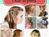 How to Do Easy Braided Hairstyles 25 Easy Hairstyles with Braids Six Sisters Stuff