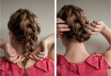 How to Do Easy Braided Hairstyles Braided Upstyle Hair Romance On Latest Hairstyles Hair
