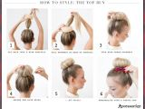 How to Do Easy Bun Hairstyles Easy Hairstyles Every Woman Can Do In Five Minutes