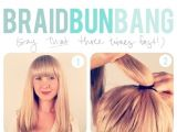 How to Do Easy Bun Hairstyles Hair Tutorials 20 Ways to Style Your Hair In Summer