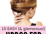 How to Do Easy Hairstyles for Medium Length Hair 10 Easy & Glamorous Updos for Medium Length Hair