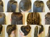 How to Do Easy Hairstyles for School 14 Cute and Easy Hairstyles for Back to School