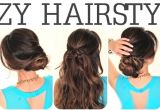 How to Do Easy Hairstyles for School 6 Easy Lazy Hairstyles