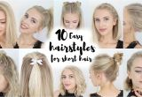 How to Do Easy Hairstyles for Short Hair 10 Easy Hairstyles for Short Hair