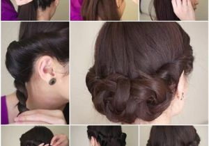 How to Do Easy Hairstyles On Yourself Diy Simple and Awesome Twisted Updo Hairstyle