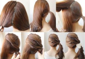 How to Do Easy Hairstyles On Yourself Simple Diy Braided Bun & Puff Hairstyles Pictorial