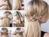 How to Do Easy Updo Hairstyles Yourself Cute Easy Updos for Long Hair How to Do It Yourself 2018
