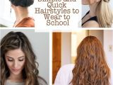 How to Do Quick and Easy Hairstyles for School 16 Simple and Quick Hairstyles to Wear to School