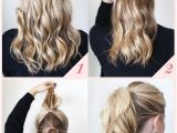 How to Do Quick Easy Hairstyles 15 Cute and Easy Ponytail Hairstyles Tutorials Popular