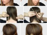 How to Make A Easy Hairstyle 6 Super Easy Hairstyles for Finals Week College Fashion