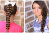 How to Make Cute and Easy Hairstyles Pull Through Braid Easy Hairstyles