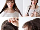 How to Make Easy Hairstyles at Home Creative Hairstyles that You Can Easily Do at Home 27
