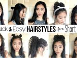 How to Make Easy Hairstyles for Medium Hair 10 Quick & Easy Hairstyles for Short Hair How I Style