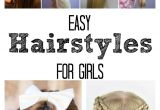How to Make Easy Hairstyles for School Easy Hairstyles for Girls the Idea Room