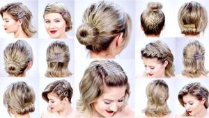 How to Make Easy Hairstyles for Short Hair Easy Hairstyles for Short Hair Short and Cuts Hairstyles