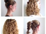 How to Make Hairstyle for Curly Hair Diy Easy & Simple Hairstyles without Heat