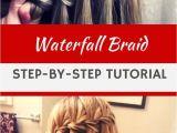 How to Make Waterfall Braid Hairstyle Jazz Up Your Hairstyle with This Cute Waterfall Braid Tutorial
