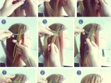 How to Make Waterfall Braid Hairstyle Waterfall Braid Hair Tutorial Hairbraiding Braidtutorials Click