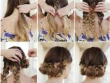 Images Of Simple Hairstyles at Home Simple Updos for Medium Hair Hairstyling Update