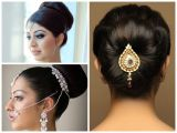 Indian Hairstyles Buns Pictures Indian Wedding Hairstyles for Medium Hair Step by Step