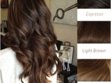 Indian Hairstyles Highlights Light Brown Balayage Indian Remy Clip In Hair Extensions Hsebb In