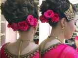 Indian Wedding Braid Hairstyles I Love Bridal Buns Pink theme❤ ❤ ❤ ❤ Hair Artistry by