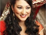 Indian Wedding Dinner Hairstyle 21 Gorgeous Indian Bridal Hairstyles