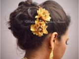 Indian Wedding Dinner Hairstyle 769 Best Images About Indian Bridal Hairstyles On