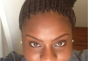 Individual Braids Updo Hairstyles Box Braids In A Bun Hair & Beauty Pinterest