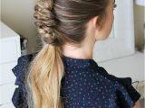 Infinity Braid Hairstyle How to Dutch Infinity Braid