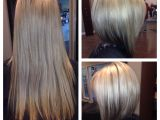 Inverted V Bob Hairstyles before and after Haircut Gorgeous Inverted Bob