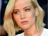 Jennifer Lawrence Bob Haircut Jennifer Lawrence Goes Trendy with New Platinum Bob