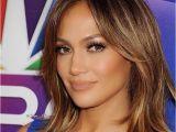 Jennifer Lopez Medium Hairstyles J Lo Short Hair Brownish Golden Highlights