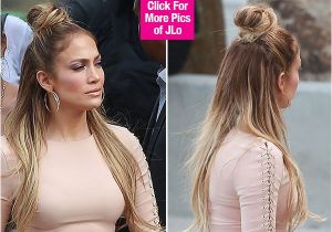Jennifer Lopez Short Hairstyles Jennifer Lopez S Half Up Half Down Hairstyle Idol — Trend to