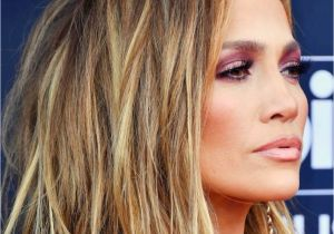 Jennifer Lopez Short Hairstyles Jennifer Lopez Short Bob Hair Cut with Blonde Balayage Hair Color